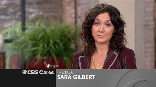 CBS Cares - Sara Gilbert on How to Improve the Environment