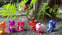 公園 木登り すべり台 ペコリン のとっくん ! プリキュアアラモード❤キュアマカロン たちが おさんぽ  ゾウ カバ キリン おもちゃ 指人形 人形 アニメ 幼児 Precure Alamode