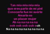Luis Miguel - Amarte es un placer (Karaoke)