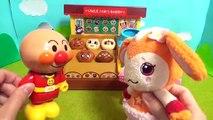 アンパンマン アニメ おもちゃ おみせやさんごっこ❤︎ 魔法のかまど チョロミーがパンを買いに来たよ☆限定のブラックロールパンナのパン 焼きたてパン アンパンマンミュージアム