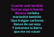 Victor García - Mi Funeral (Karaoke con voz guia)