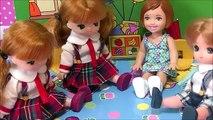 リカちゃん 幼稚園で布団にお漏らし! ミキちゃんマキちゃんがいじめ! りくくん ケリー 犯人は誰 メルちゃん 先生 おもちゃ アニメ 人形 学校 バービー パンツ ここなっちゃん