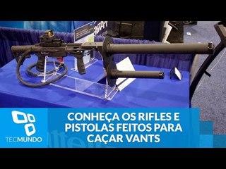 Adeus, drones: conheça os rifles e pistolas feitos para caçar VANTs