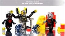 Et chaque pelote faites officiel contre Lego fourmilier homme géant pym yellowjacket minifigure knockoffs
