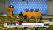 International community calls for calm amid North Korea tensions