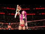 Sasha Banks vs. Charlotte Flair – Raw Women's Title Falls Count Anywhere Match: Raw, Nov. 28, 2016 - Charlotte Flair vs Sasha Banks - WWE