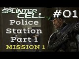 Splinter Cell Gameplay | Let's Play Tom Clancy's Splinter Cell - Police Station 1/2 (Mission 1)