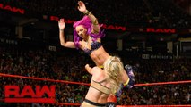 Sasha Banks, Bayley vs. Charlotte Flair, Nia Jax: Raw, Nov. 21, 2016 - Nia Jax, Charlotte Flair vs Sasha Banks, Bayley Full Match - WWE
