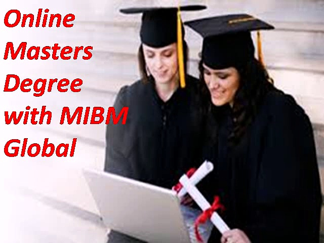 Contact Online Masters Degree with MIBM Global
