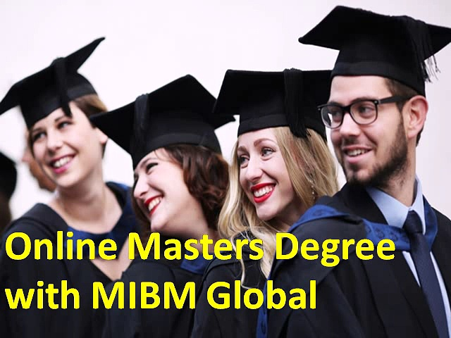 Online Masters Degree with MIBM Global NOIDA & DELHI