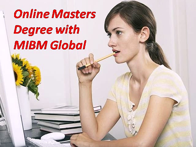 Support Online Masters Degree with MIBM Global