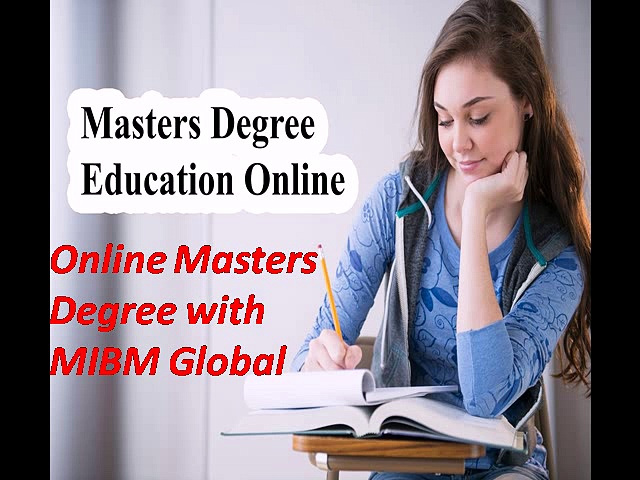 Online Masters Degree with MIBM Global Noida