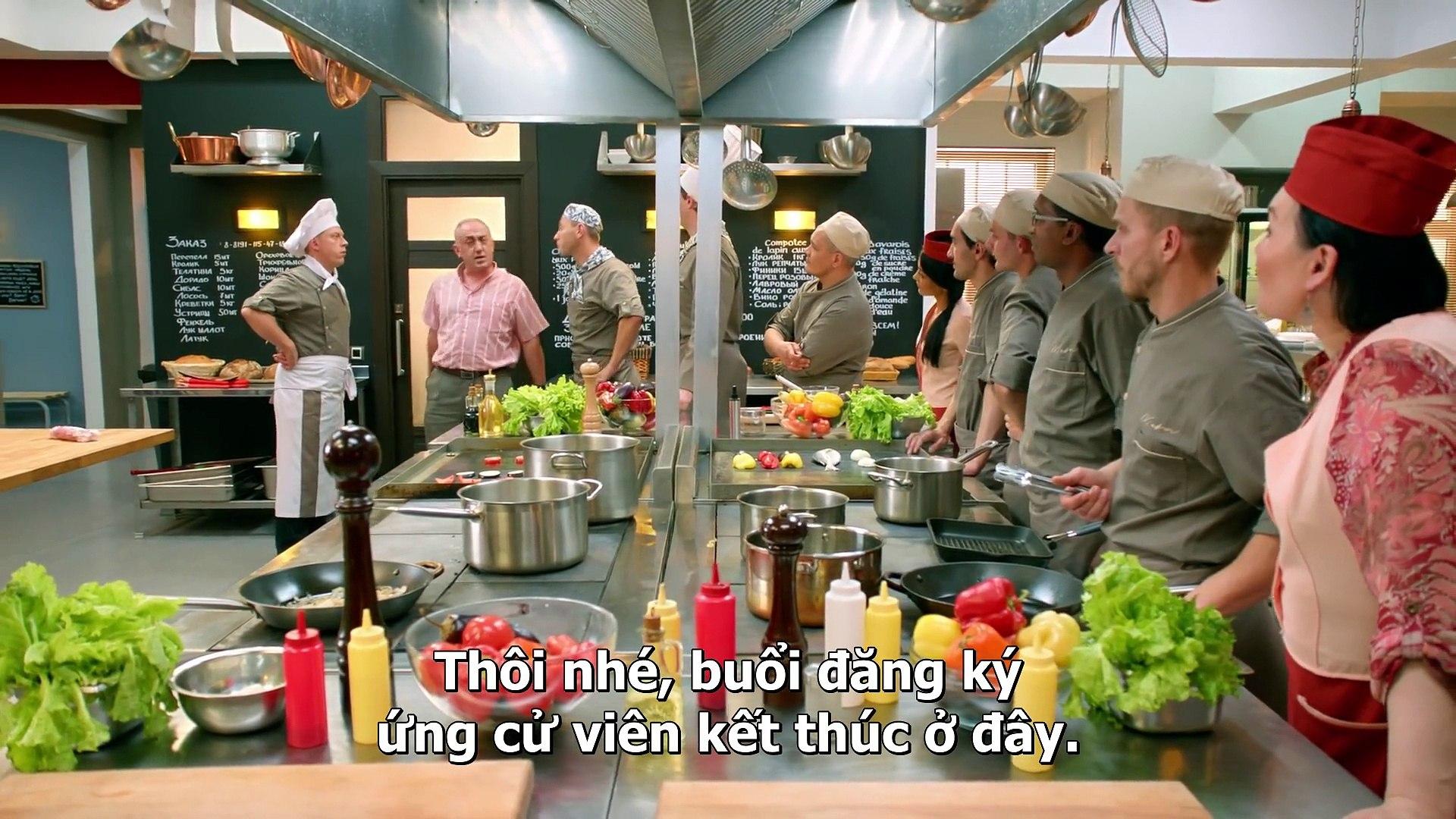 Tập 118 Kitchen - Nhà Bếp (hài Nga) (Кухня (телесериал)) 2012 HD-VietSub