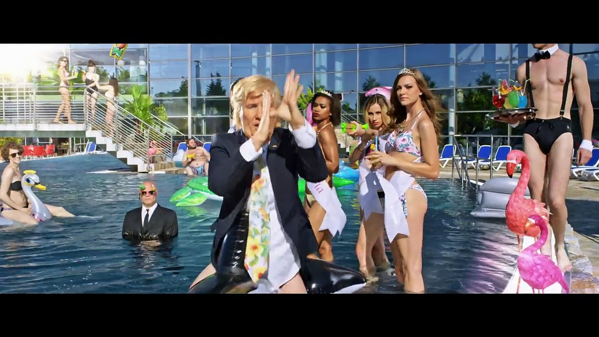 Klemen Slakonja as Donald Trump ft. Melania Trump Golden Dump (The Trump Hump)/#TheMocking