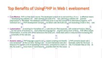Top Benefits of Using PHP in Web Development