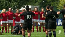 Black Ferns deliver epic HAKA at Women's Rugby World Cup