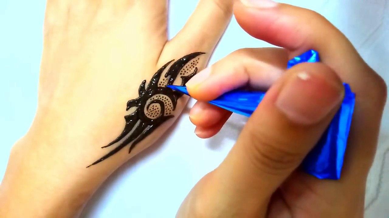 boys mehndi tattoo design