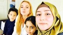 Lindsey Lohan & The Koran