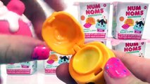 Num Noms Blind Boxes & Tutti Frutti Ice Cream Pack Toy Opening & Review