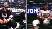 All Fights November 1, 2016, Los Angeles Kings VS. Anaheim Ducks