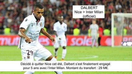 JT du Mercato (10/08/17) : Dalbert à Inter Milan, Boudebouzà Séville, Coutinho vers Barcelone...