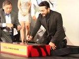 تامر حسني يضع بصمته على ممر المشاهير برصيف هوليوود بوليفارد par Arab Movies - Dailymotion