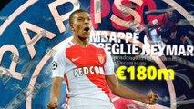 يورو بيبرز: باريس يخطف مبابي ويدفع ريال مدريد الى ملاحقة هدف برشلونة