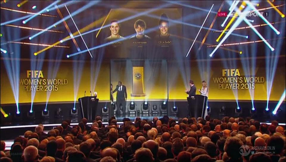 Carli LLOYD Wins FIFA Women's World Player of the Year