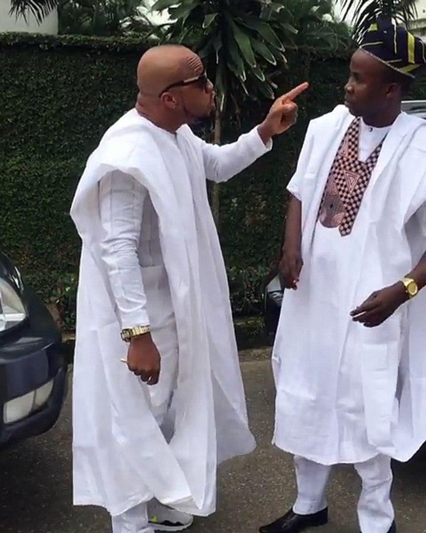 See Nollywood actors Filming In Asaba