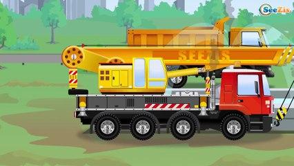 El Camión Mighty - SITIO DE CONSTRUCCIÓN Y DEMOLICIÓN Construction Vehículos Para Niños