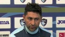 Avant Paris FC - HAC, interview d'Oswald Tanchot