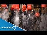 Ice bucket challenge, moda que ayuda a pacientes con esclerosis de la fundación ALS