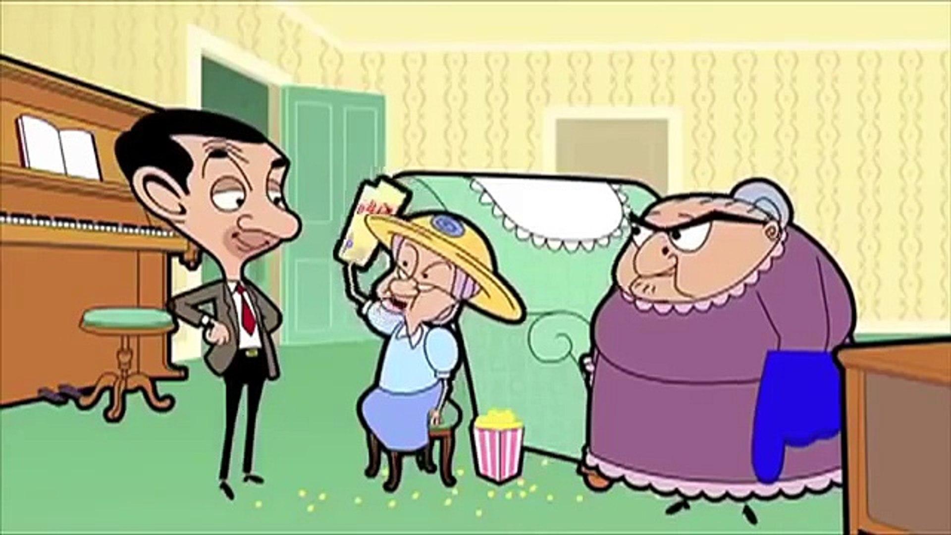 كرتون مستر بن الرجل القوي Mr Bean Cartoon Video Dailymotion