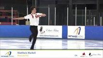Championnats québécois d'été 2017 / Junior Messieurs Prog. court