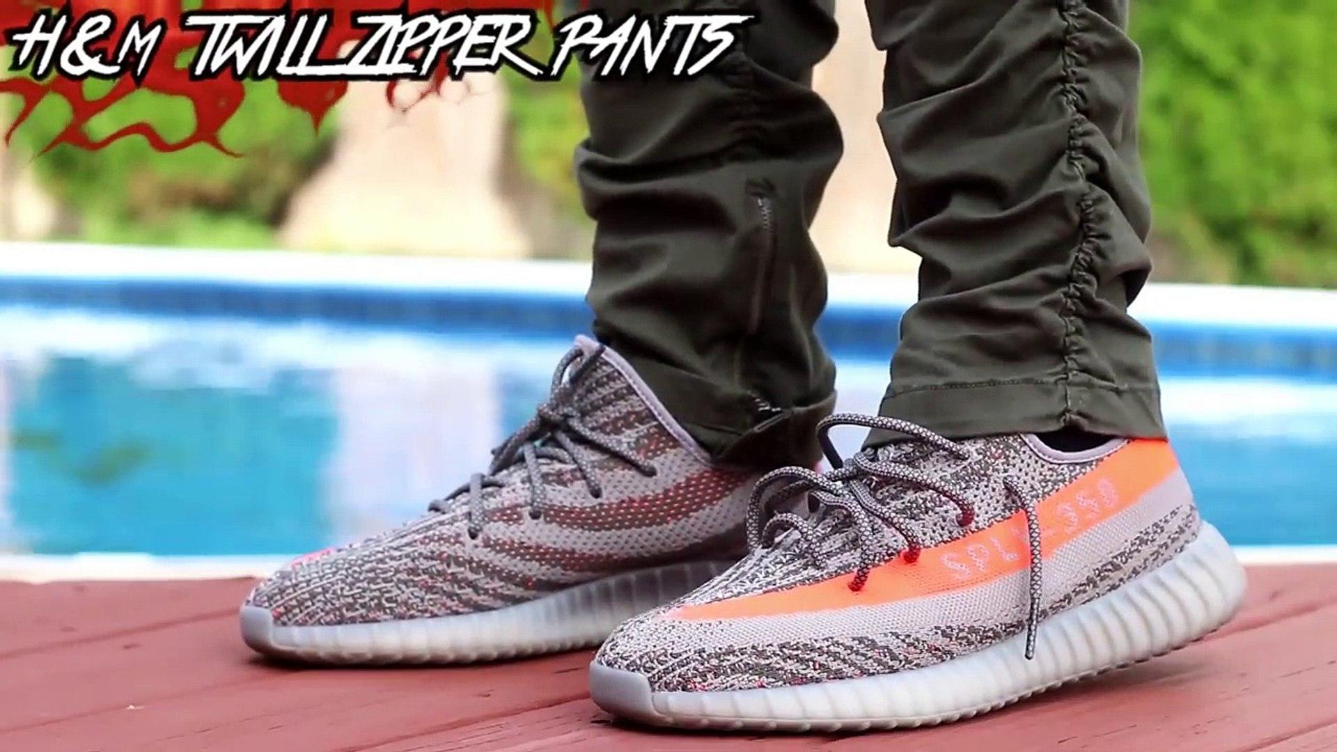 Yeezy V2 Beluga On Feet Comparison Video Dailymotion