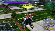 (PS2) Gundam Vs. Zeta Gundam ZZ Gundam   Arcade Run