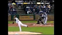 2008 Dodgers: Manny Ramirez adds to the Dodgers lead, doubles in Derek Lowe vs Pirates (9