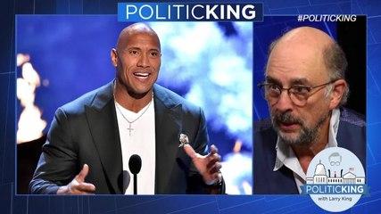 """Ballers"" co-star Richard Schiff on Dwayne 'The Rock' Johnson's political future"