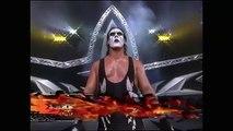 Sting destroys David Flair Ric Flair and Arn Anderson WCW Nitro