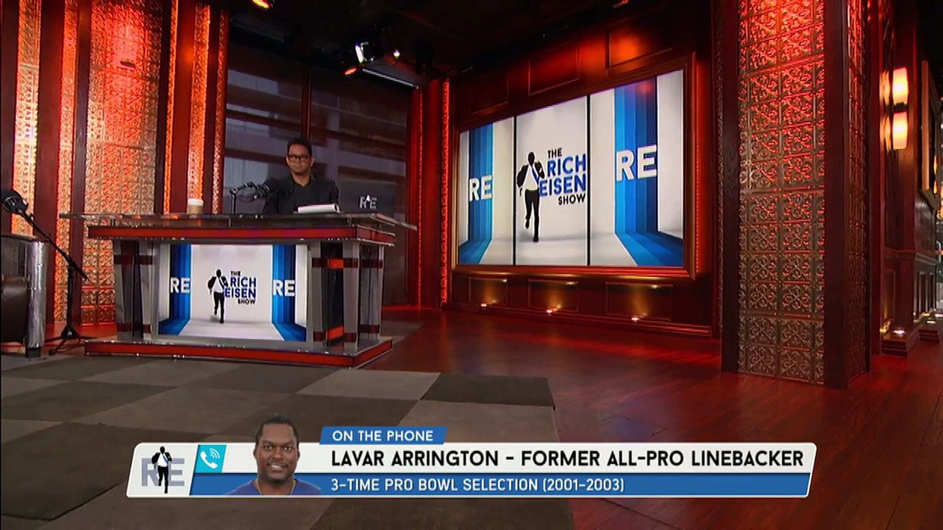 Former All Pro LB LaVar Arrington on NFL Suspended Players Linked to Al Jazeera PED Report