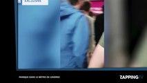 Métro de Londres : Une épaisse fumée s'introduit dans des wagons, les passagers paniquent (vidéo)