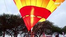 Festival de montgolfières en Israël
