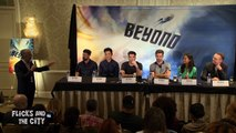 STAR TREK BEYOND Cast Interviews Chris Pine, Zachary Quinto, Karl Urban, Zoe Saldana