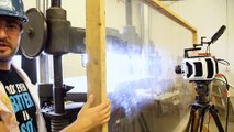 Hydraulic Press in Slow Motion - The Slow Mo Guys