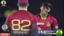 Shadab Khan Magical 4 Wickets vs Guyana Amazon Warriors - TKR vs GAW August 12 CPL 2017 -