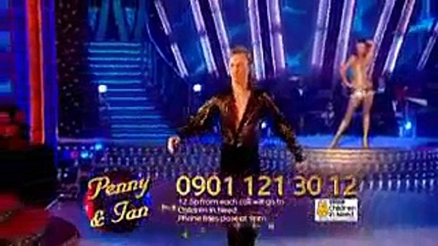 Strictly Come Dancing Penny Lancaster Stewart Samba