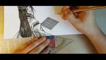 Hikaru No Go Sai & Hikaru | Speed Drawing #54