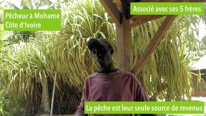 Sylvain, pêcheur à Mohamé  [INTERVIEW GREEN PROJECT AFRICA]