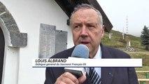 Hautes-Alpes : une cérémonie sous la neige au mois d'août pour le souvenir français