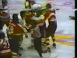 Flyers Islanders Wild bench brawl 01 06 79
